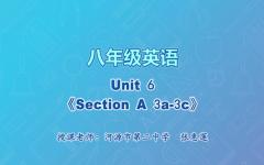 【4月28日】八年级英语Unit6《Section A 3a-3c》