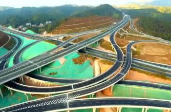 河惠莞高速公路龍紫段正式通車